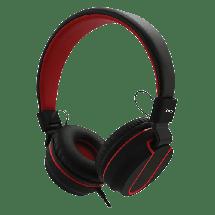MS slušalice Fever 2 (Crna/Crvena)  Naglavne, Stereo, 20Hz - 20KHz, 105dB