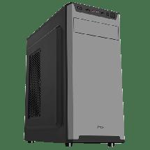 MS kućište Warrior  Midi Tower, Micro-ATX, Mini-ITX, ATX, Bez napajanja, Crna
