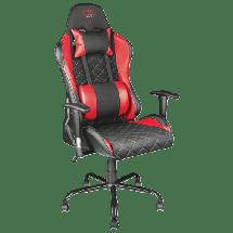TRUST gejmerska stolica GXT 707 (Crna/Crvena)  do 150 kg, Eko koža, tkanina
