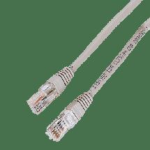 HAMA Mrežni kabl 3m (Sivi) - 30595,  CAT.5e, UTP, RJ 45, Patch (Ravni), Licnasti
