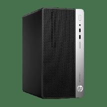 HP ProDesk 400 G5 Microtower PC - 4HR93EA  Intel® Core™ i3-8100 3.60 GHz, 4GB, Intel® UHD Graphics 630, Windows 10 Pro 64bit
