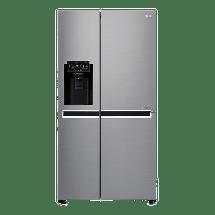 LG Side by side frižider GSL761PZXV  No Frost, A+, 405 l, 196 l
