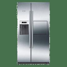 BOSCH Side by side frižider KAG90AI20  No Frost, A+, 359 l, 163 l