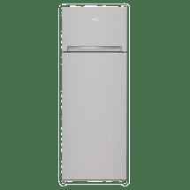 BEKO Kombinovani frižider RDSA240K20S  146.5 cm, 177 l, 46 l