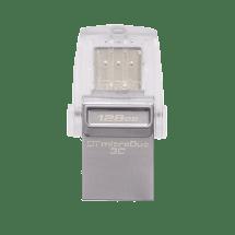 KINGSTON USB 128GB DTDUO3C  USB C, 128GB, do 100 MB/s, do 15 MB/s