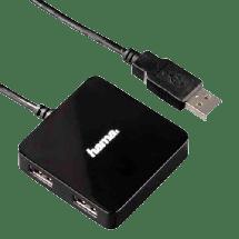 HAMA USB hub USB 2.0 1:4 - 12131  4 x USB-A 2.0, USB 2.0 - A , Crna