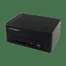 "LC POWER HDD docking station - LC-DOCK-U3-CR  2.5"" ili 3.5"", SATA I / II / III, USB 3.0, Plastika"