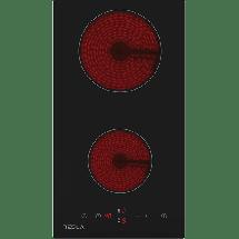 TESLA Ugradna ploča HV3200MB  Crna, Staklokeramička, Senzorsko upravljanje (Na dodir)