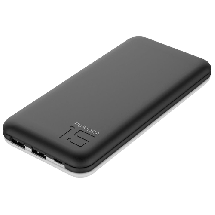 PURIDEA Power bank / eksterna baterija S3 - S3PB15BK  15000 mAh, 1 x Micro USB, 2 x USB A, Li-Polymer, Crna