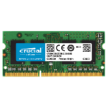 CRUCIAL CT51264BF160BJ  4GB, SO-DIMM DDR3L, 1600Mhz, CL11