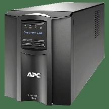 APC Smart-UPS 1000VA LCD - SMT1000IC -  1000VA / 700W, Line-Interactive, 160-286 VAC, 220/ 230/ 240 VAC +/-5%