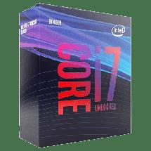 INTEL Core i7-9700K 3.6GHz (4.9GHz)  Intel® 1151 (8. i 9. gen.), Intel® Core™ i7, 8