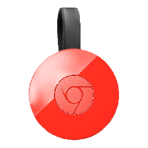 GOOGLE Chromecast 2.0 Red