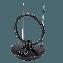 HAMA DVB-T/DVB-T2 Antena  Unutrašnja, 1.5 m, Crna