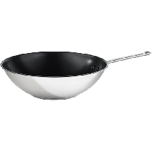 GORENJE Vok tiganj CWWA01HC  Nerđajući čelik, 31.9cm, Inox/crna