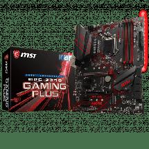 MSI Z390 GAMING PLUS  Intel, Intel® 1151 (8. i 9. gen.), Intel® Z390