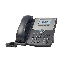 CISCSO 1 Line SPA502G  IP telefon, Crna