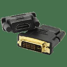 FAST ASIA adapter DVI (24+5) na HDMI (m/ž),  DVI-I Dual link, HDMI A, m/ž, Adapter bez kabla