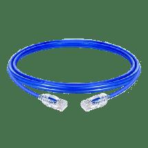 FAST ASIA mrežni kabl 1m (Plavi),  CAT.6, UTP, RJ 45, Patch (Ravni), Licnasti