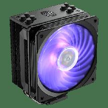 COOLER MASTER kuler za procesor HYPER 212 RGB Black Edition - RR-212S-20PC-R1  CPU, Vazdušno hlađenje, 120 x 120 x 25 mm