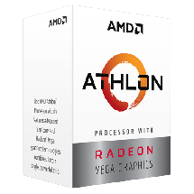 AMD Athlon 240GE 3.5GHz  AMD® AM4, AMD® Athlon, 2, 4