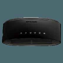 D-LINK Switch DES-1005D  Neupravljivi, 5 RJ-45 portova, 2K, 1Gbps