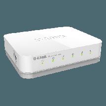 D-LINK Switch GO-SW-5G  Neupravljivi, 5 RJ-45 portova, 4K, 10Gbps