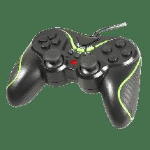 TRACER gamepad GREEN ARROW (Crno/Zeleni) - TRAJOY43820  Četvorosmerni kursor, USB, Windows, PlayStation