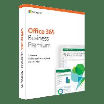 MICROSOFT Office 365 Business Premium Retail - KLQ-00425  Engleski, Komercionalna i kućna upotreba, Jednogodišnja pretplata