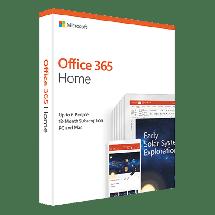 MICROSOFT Office 365 Home Central/Eastern Euro Only Medialess - 6GQ-00948  Engleski, Fizička lica - kućna upotreba, Jednogodišnja pretplata
