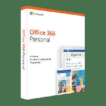 MICROSOFT Office 365 Personal Central/Eastern Euro Only Medialess  Engleski, Fizička lica - kućna upotreba, Jednogodišnja pretplata