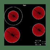 WHIRLPOOL Ugradna ploča AKT 8130 BA  Crna, Staklokeramička, Senzorsko upravljanje (Na dodir)