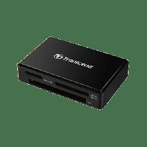TRANSCEND TS-RDF8K2  Čitač kartica, USB 3.1, Crna