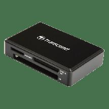 TRANSCEND TS-RDF9K2  Čitač kartica, USB 3.1, Crna
