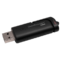 KINGSTON Data Traveler 104  USB 2.0, 32GB, Crna