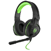 HP gejmerske slušalice Pavilion 400 (Crna/Zelena) - 4BX31AA  Stereo, Na ručici