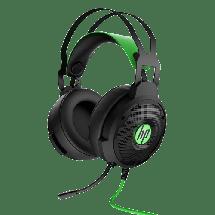 HP gejmerske slušalice Pavilion 600 (Crna/Zelena) - 4BX33AA  Virtual 7.1, Na ručici