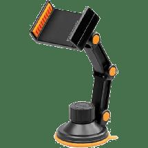 PROMATE RiseMount  Auto držač za mobilni telefon, Crna/Narandžasta