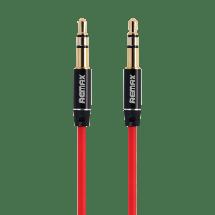 REMAX AUX audio kabl L200 3.5mm na 3.5mm 2m (Crveni),  3.5 mm, 3-pina, 3.5 mm, 3-pina, m/m, Crvena