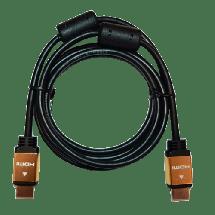 FAST ASIA HDMI kabl 2.0 4K, 5m Pozlaćen (Crni),  HDMI 2.0 (4K @60fps), HDMI A - muški, HDMI A - muški, Okrugli