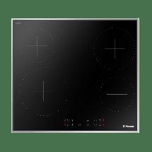 HANSA Ugradna ploča BHCI66377  Crna, Staklokeramička, Senzorsko upravljanje (Na dodir)