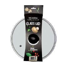 TEXELL poklopac za tiganj TGL-28 (Transparentni)  Staklo, Transparentna