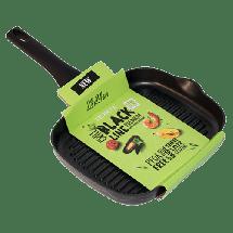 TEXELL gril tiganj Black Line TPBL-G28 (Crni)  28cm, Crna