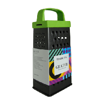 TEXELL rende Black M TR-B143 (Zelena/Inox)  Rende, Plastika/Nerđajući čelik, Zelena/Inox