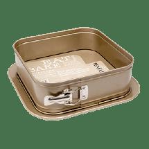 TEXELL kalup za tortu Texell Gold LIne TPGL-T243 (Inox)  Kalup za tortu, Karbon čelik, 24x24x7.9cm