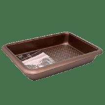 TEXELL pekač Chocolate Line TPCH-P241 (Braon)  Pekač, Karbon čelik, 39.5x26x5.5cm, Braon