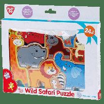 PLAYGO Kocke za slaganje Divlje životinje  2+ godina