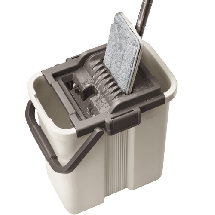 LAMART Set za čišćenje LT8046 - APA01217 -  Komplet za brisanje podova, Čelik, Plastika, Bež