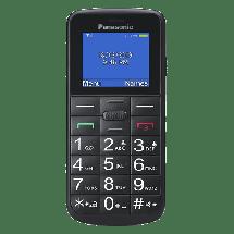 """PANASONIC KX-TU110EXB za starije osobe (Crna),  1.77"""""""