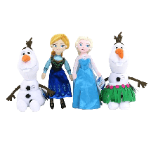 JUST PLAY Frozen Plišana lutka sa zvukom  Univerzalno, 3+ godina